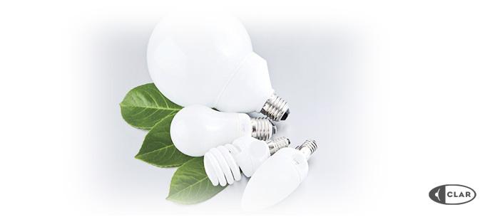 lámparas de ahorro de energía Clar iluminación